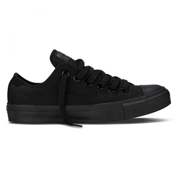 Converse Chucks Low mono schwarz