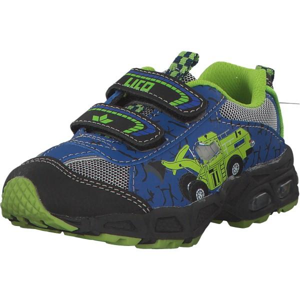 Geka Loader V Blinky Kinder Sneaker 300180 blau