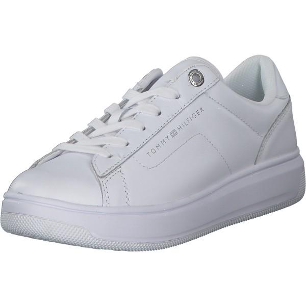 Tommy Hilfiger Damen Sneaker FW0FW05009 Weiß