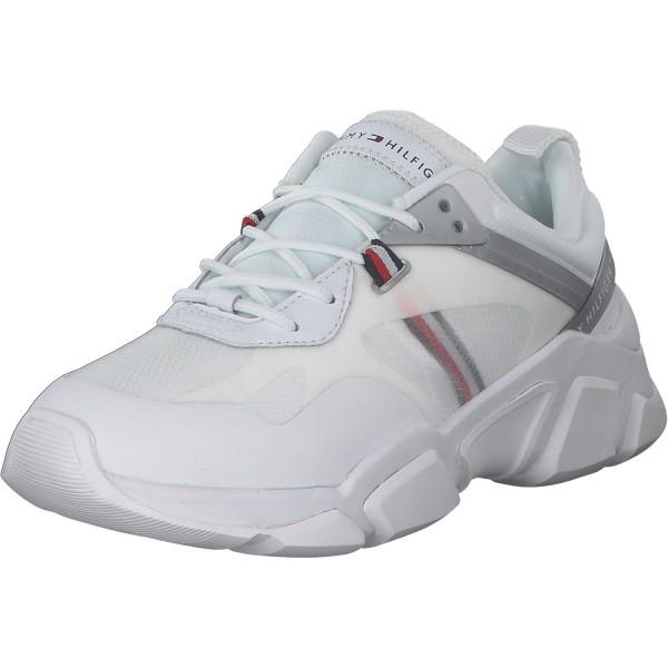 Tommy Hilfiger Damen Sneaker FW0FW04996-0K8 Weiß