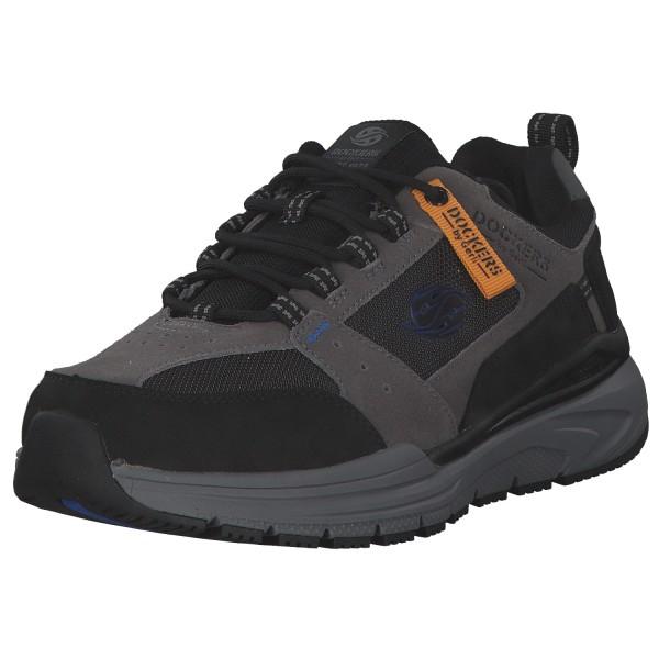 Dockers Herren Sneaker 47HE001-207201 Grau/Schwarz