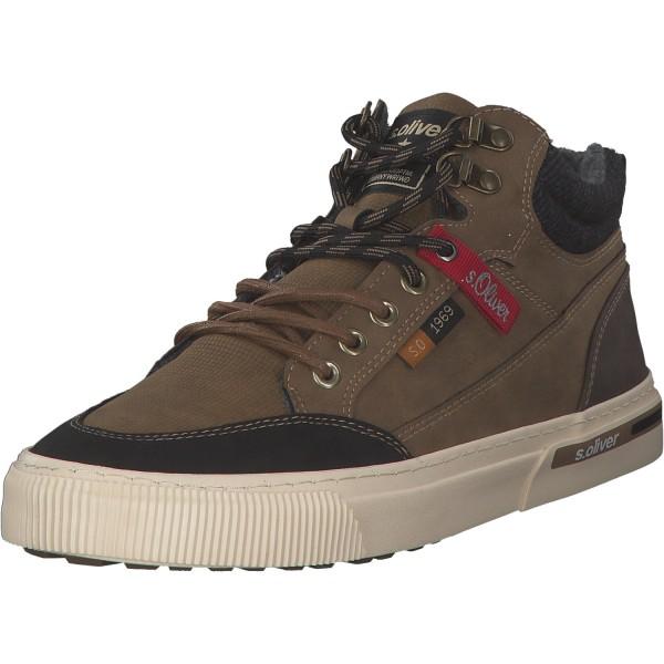 s. Oliver Herren Sneaker 5-5-15224-35/300 Braun