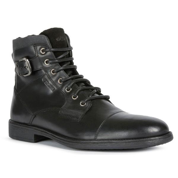 Geox U Jaylon D Herren Stiefel U04Y7D-0003C/C9999 schwarz
