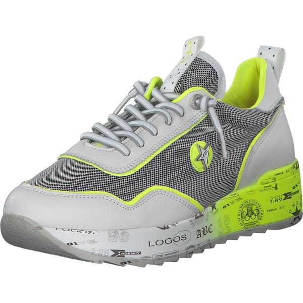 Cetti Damen Sneaker C1217 SRA XL weiß