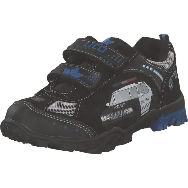 Geka Chief V Kinder Sneaker 300032 schwarz