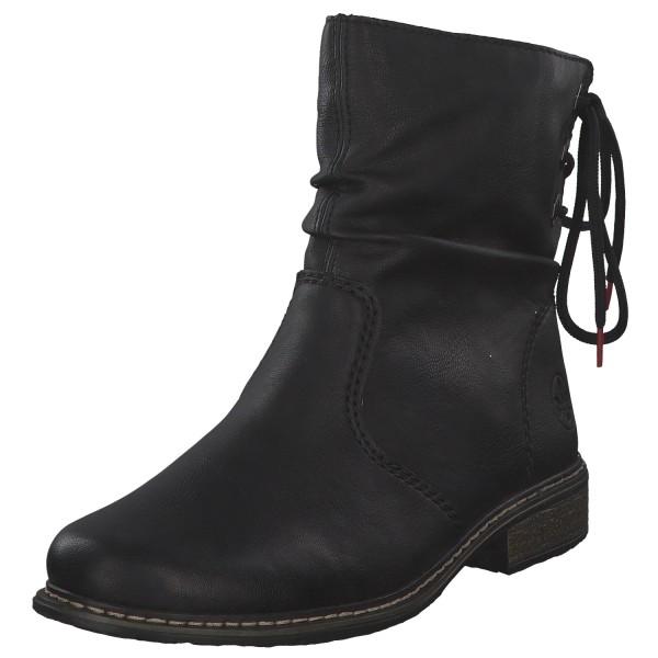 Rieker Damen Stiefel Z49L1-00 Schwarz NEU