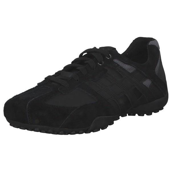 Geox Snake Herren Sneaker U4207K-022EK/C9999 Schwarz