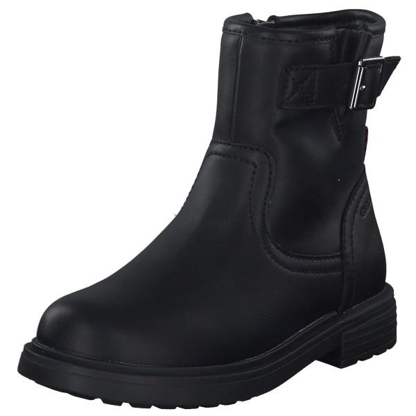 Geox Eclair Girl Kinder Stiefel J049QB-000BC/C9999 schwarz